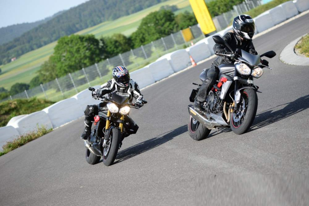 Triumph Speed Triple R Test