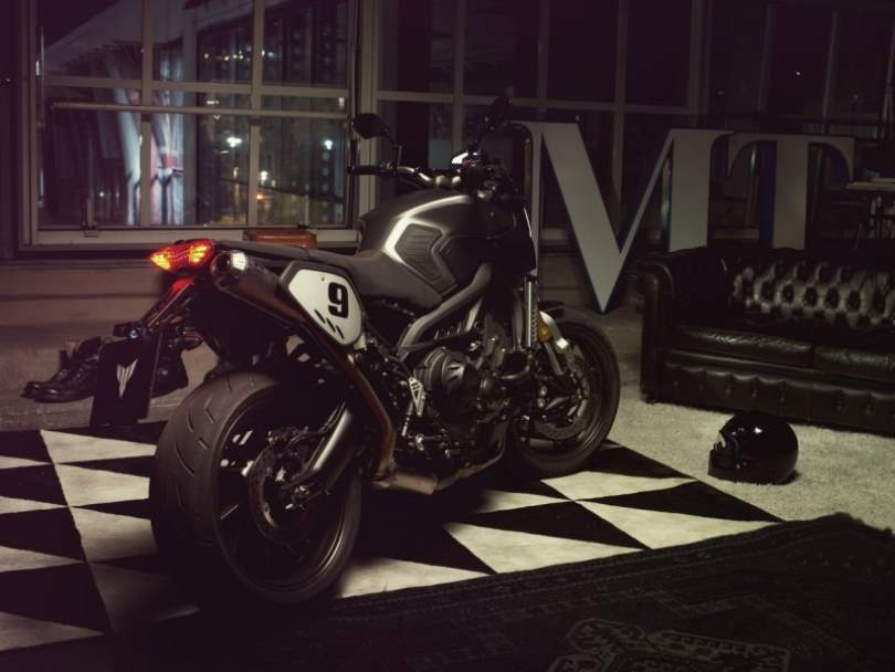 Yamaha MT-09 Street Tracker becomes Sport Tracker