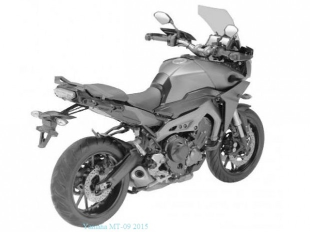 Yamaha MT-09X 2015