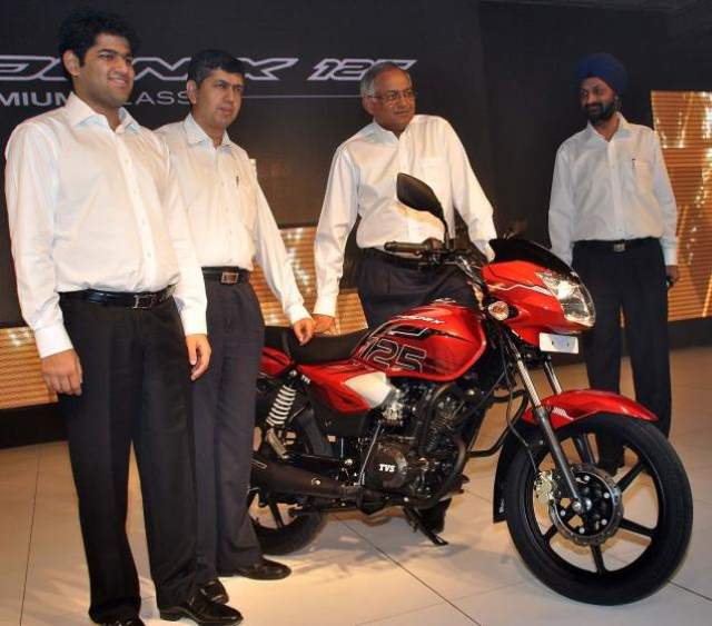 TVS Going to Introduce Two New Motorcycles 2014