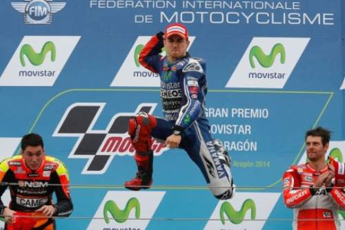 Aragon MotoGP Lorenzo After Suspense1