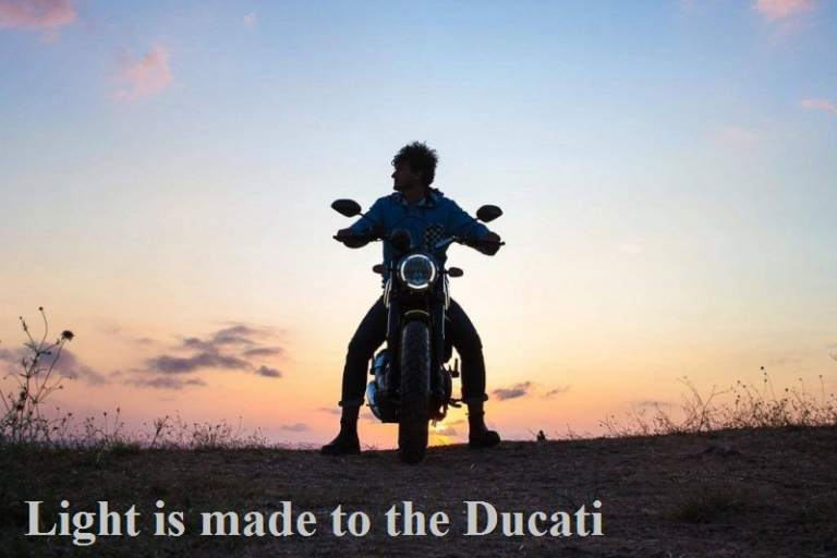 Ducati Scrambler is made to Light