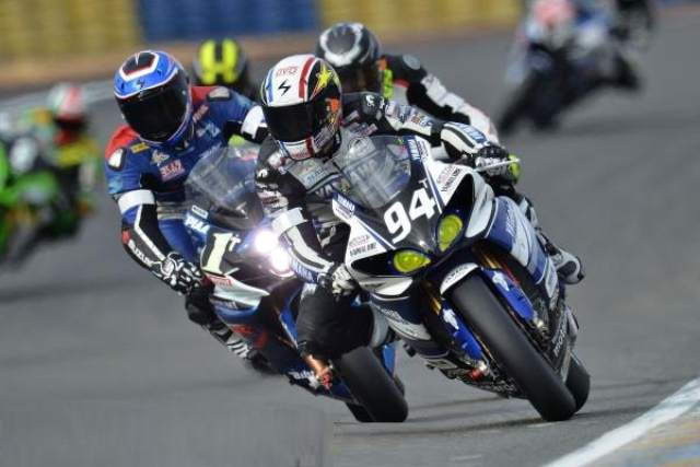 Mans 24 Hours 2014 Czech champion David resistance Yamaha