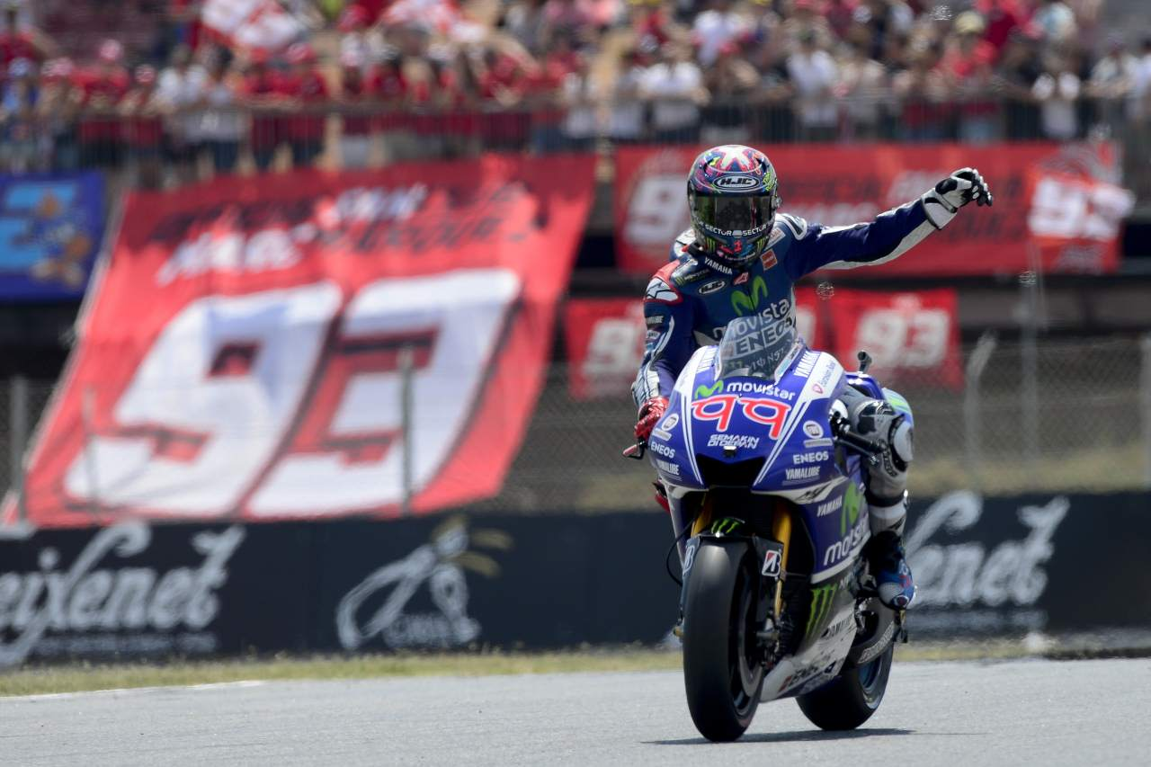 2014 MotoGP Aragon Lorenzo wins Race Flag to Flag