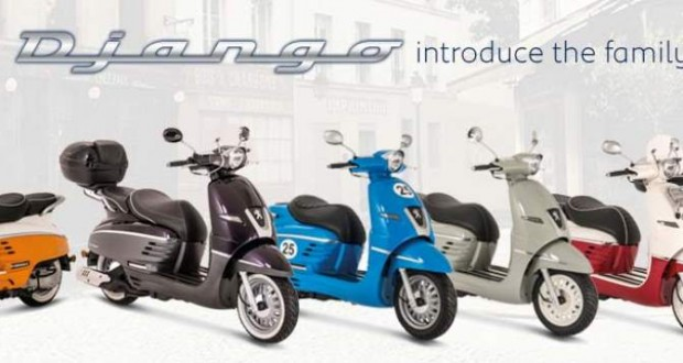 Peugeot Django 2014 Scooters