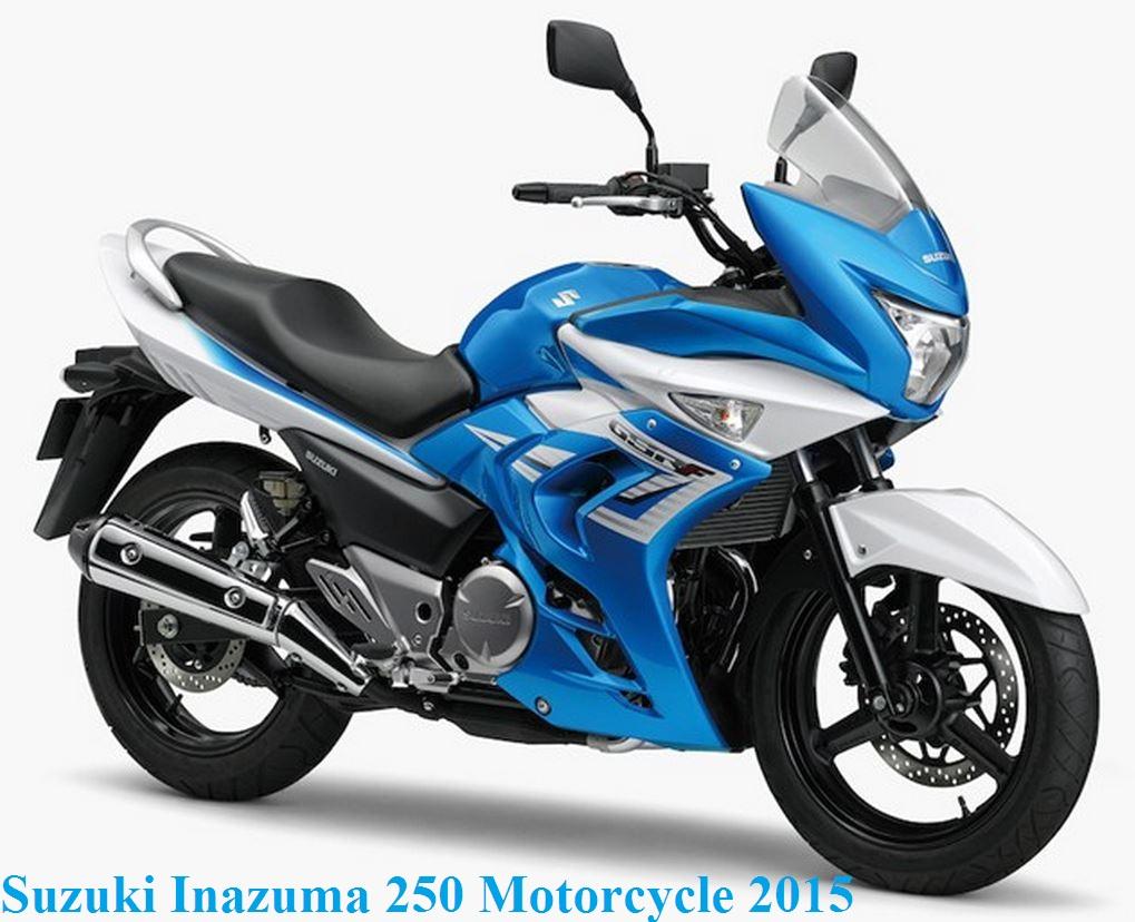 2015 Suzuki Inazuma 250 Motorcycle