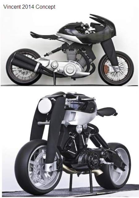 Vincent Concept Motorcycle 2014