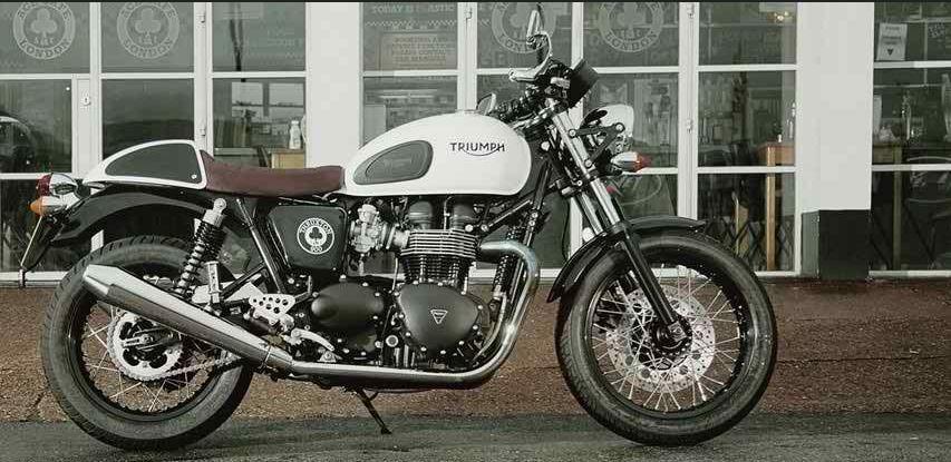 Triumph Thruxton Ace Café London