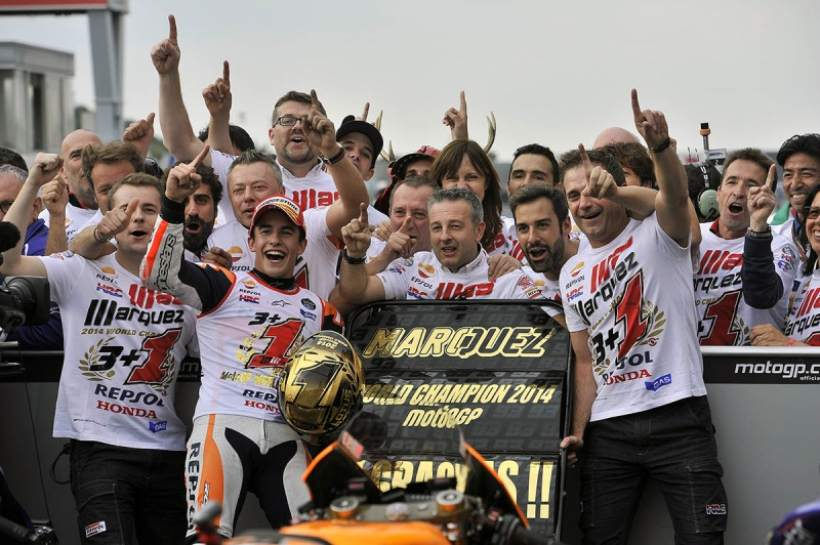 Motegi GP: Marc Marquez World Champion 2014
