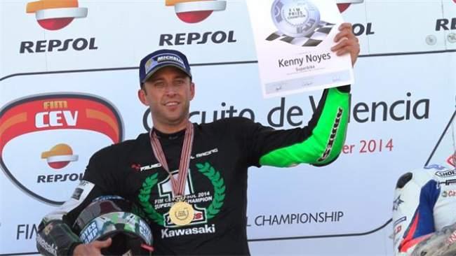 Kenny Noyes CEV Superbike 2014 Championship