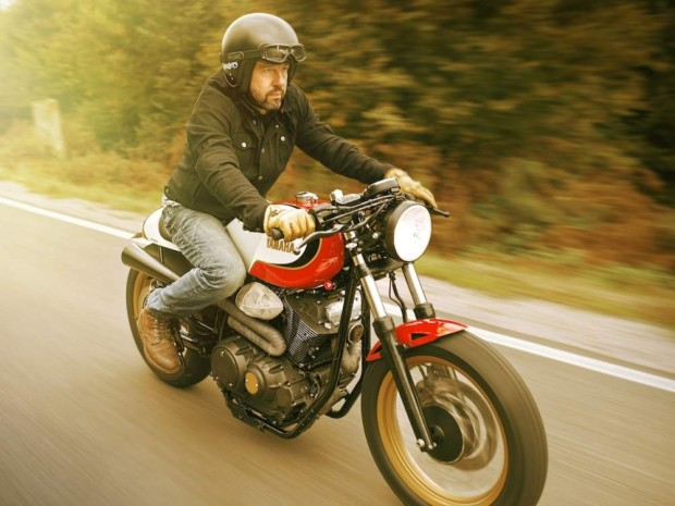 Yamaha Yard Built XV950 Boltage of the brothers Bender