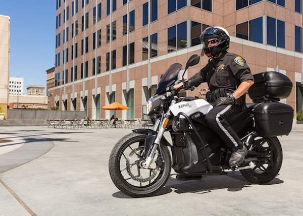 Burbank Police Department adopts Zero DSP Motorcycle 2015
