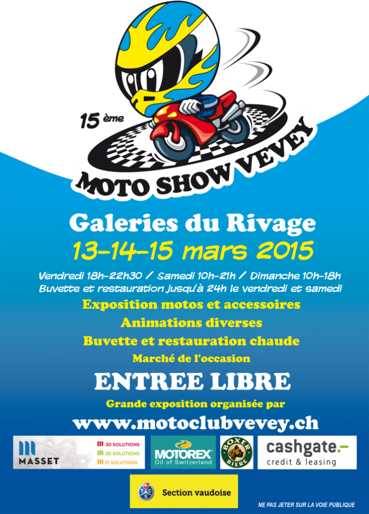 15TH MOTORCYCLE SHOW VEVEY 2015