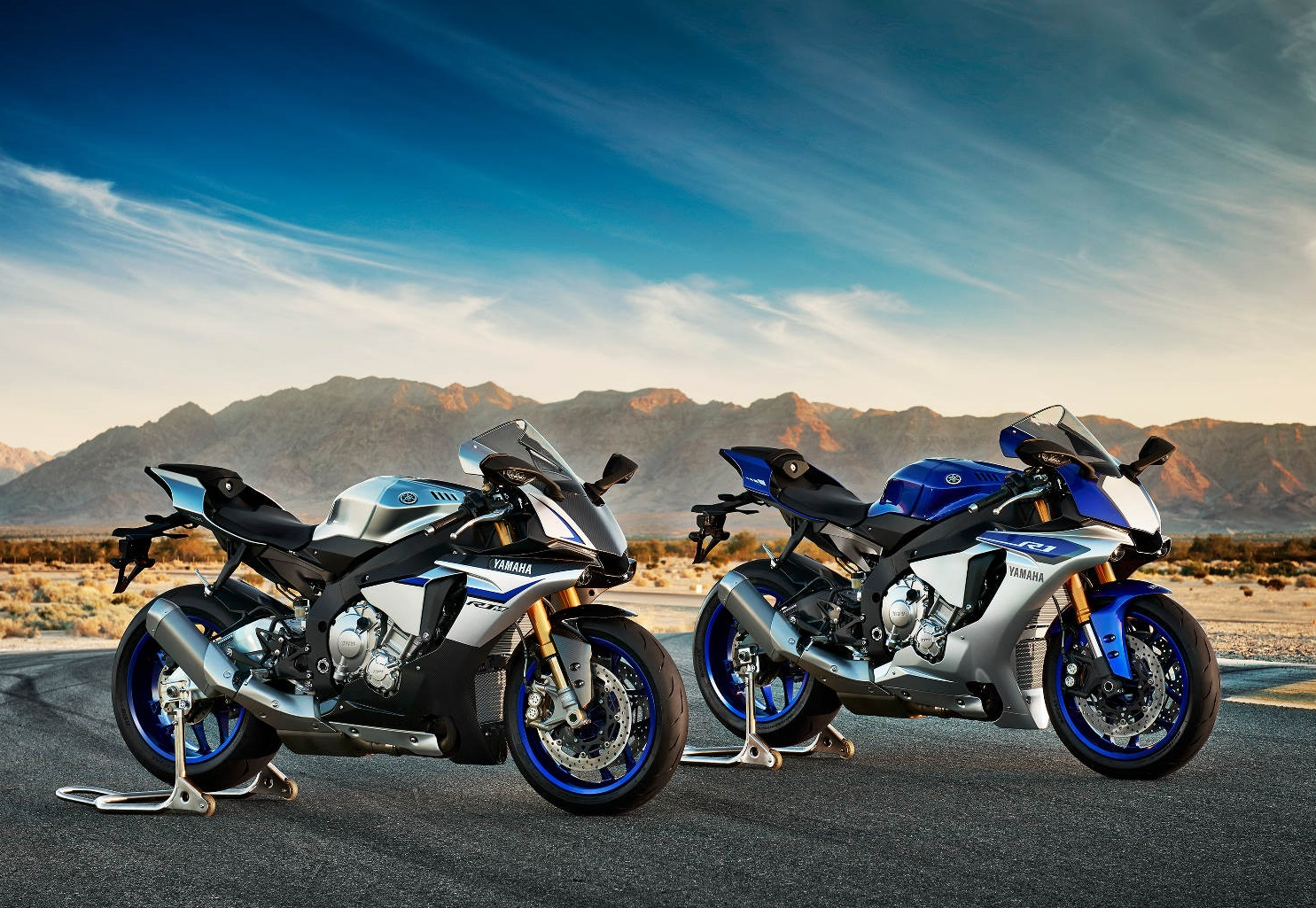 2015 Yamaha R1, R1M and MT-09 New Motorcycles