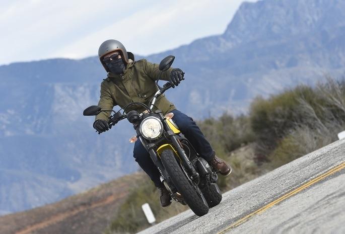 Ducati Scrambler Test