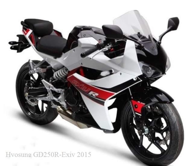 Hyosung GD250R-Exiv 4th Generation Bike 2015