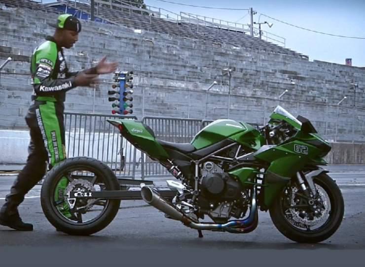 Kawasaki Ninja H2 Custom Hybrid