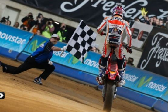 Marc Marquez Got Championship of Superprestigio