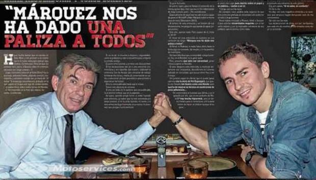 MotoGP 2015-2016 Meeting with Jorge Lorenzo