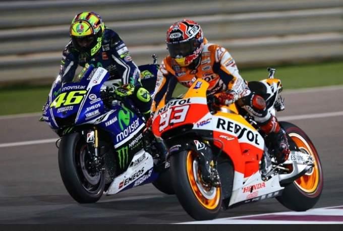 MotoGP Honda vs Yamaha