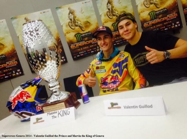 Supercross Geneva 2014 - Valentin Guillod the Prince and Marvin the King of Geneva