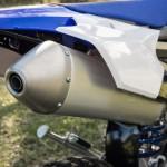 Yamaha 250 WRF 2015 exhaust