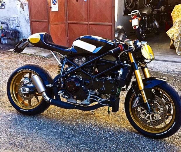 New Ducati 999 Pirate Edition by Iron Pirate Garage