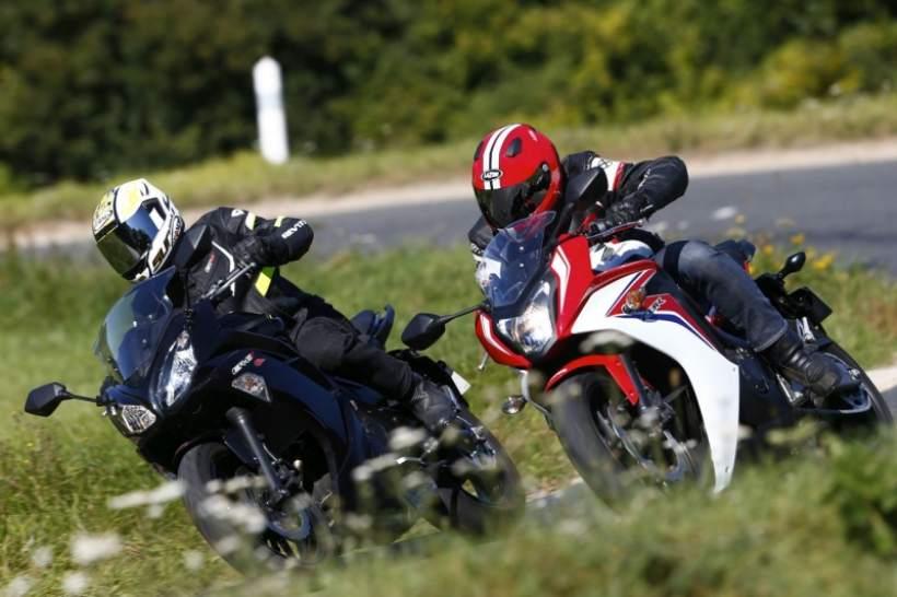 Kawasaki Er-6f vs Honda CBR600F