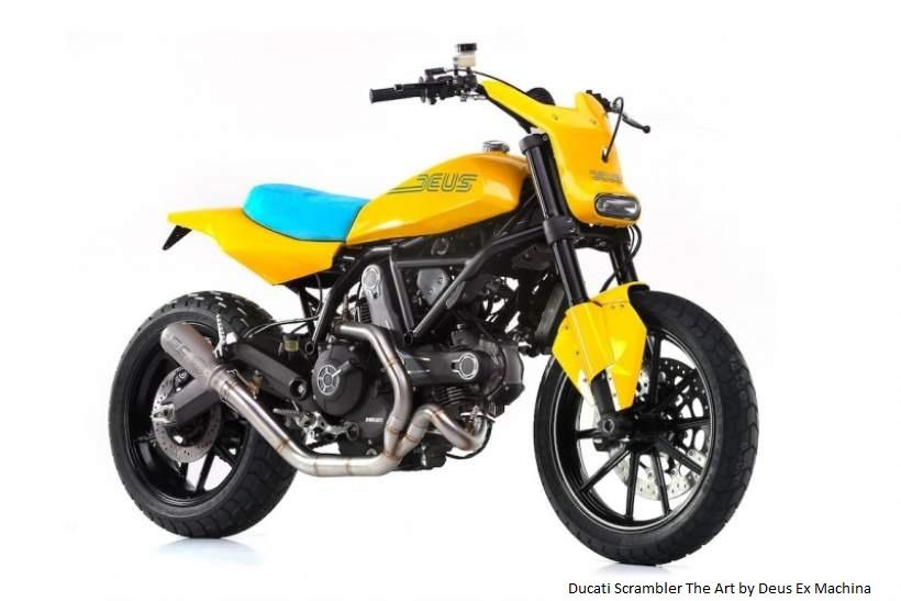 Ducati Scrambler by Deus Ex Machina