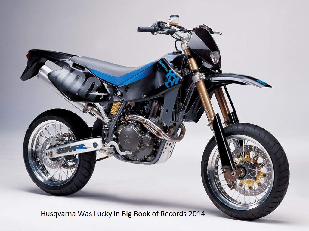 Husqvarna Was Lucky in 2014 with Big Book of Records