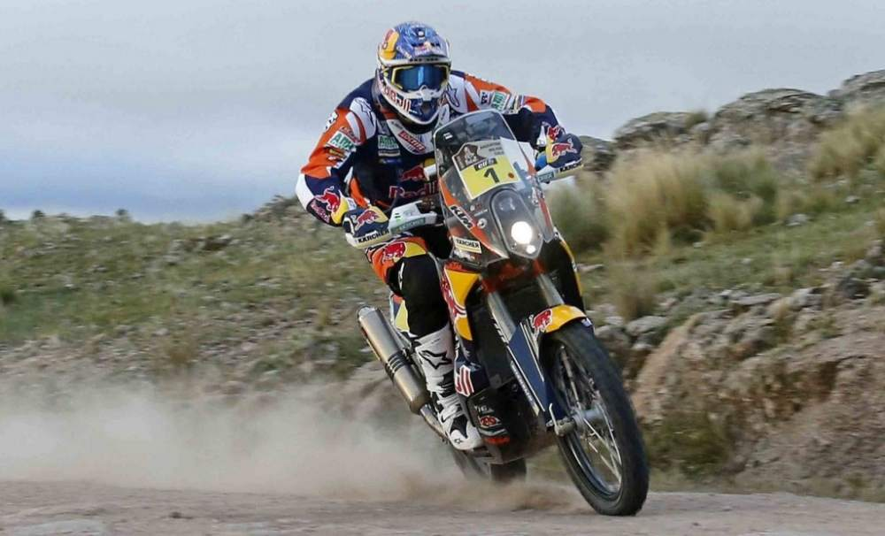 2015 Dakar Stage 2- Joan Barreda Got the Race