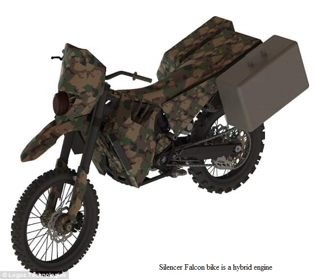 US Army Produced a Silent Stealth Electric Motorbike
