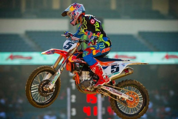 Supercros AMA Anaheim II 2015 and Ken Roczen relentless
