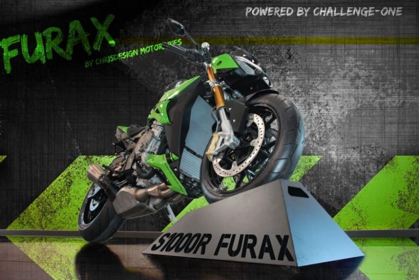 BMW S 1000 R Furax by Challenge One Agen
