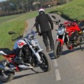 Ducati Monster vs BMW R1200R 1200 Motorcycles