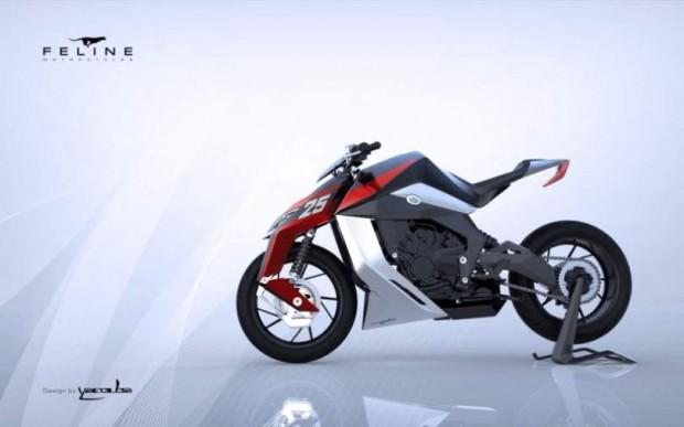 Feline Motorcycles Design by Yaqouba Design 2015