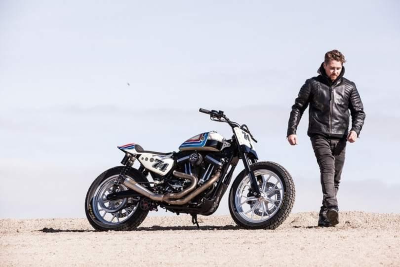 Harley-Davidson Sportster Ameri Tracker by Roland Sands