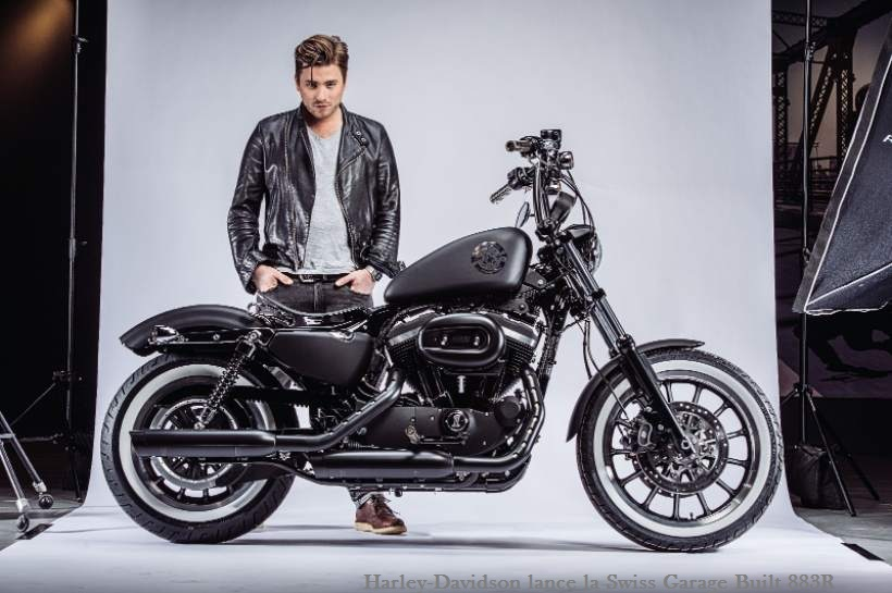 Harley-Davidson lance la Swiss Garage Built 883R