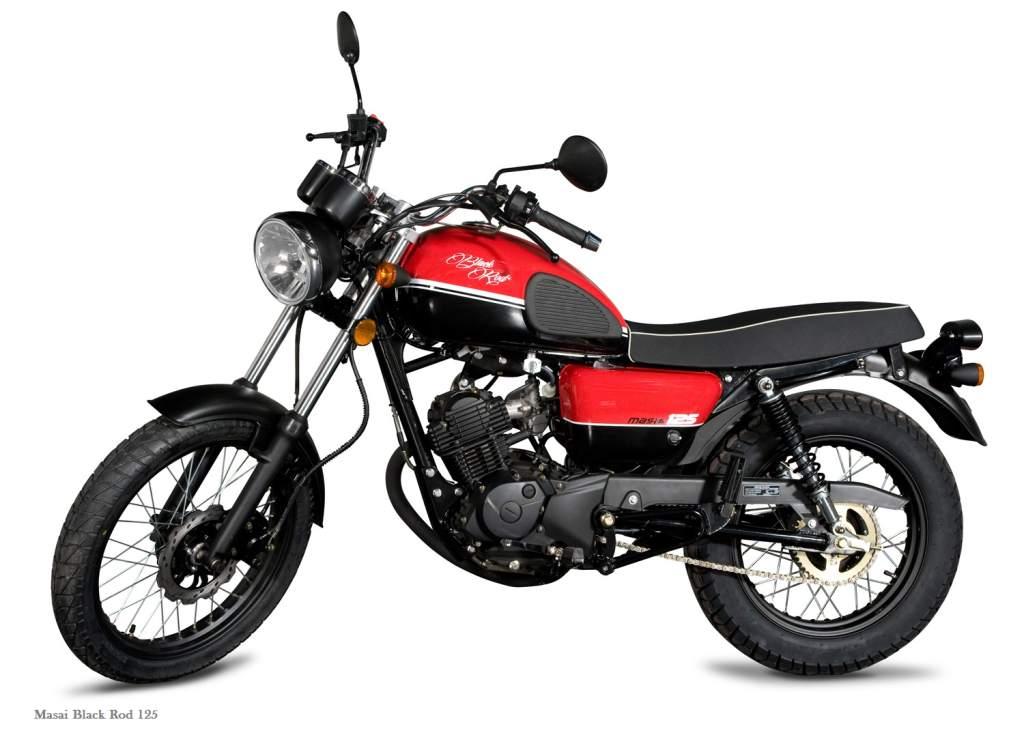 Masai Black Rod 125 Best Motorcycle