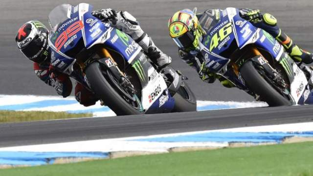 Moto GP 2015: Lorenzo and Rossi