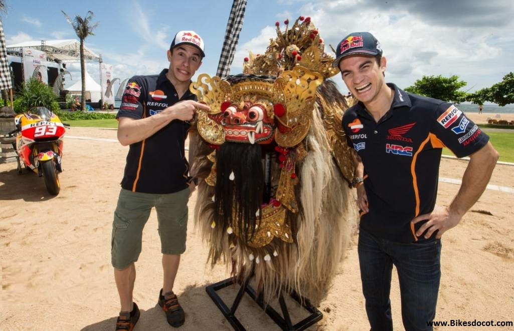 Bali : Repsol Honda Unveil New 2015 Livery