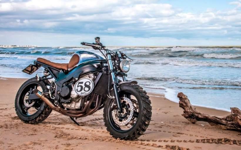 Triumph TT600 Rimorchiatore by Shaka Garage motorcycle