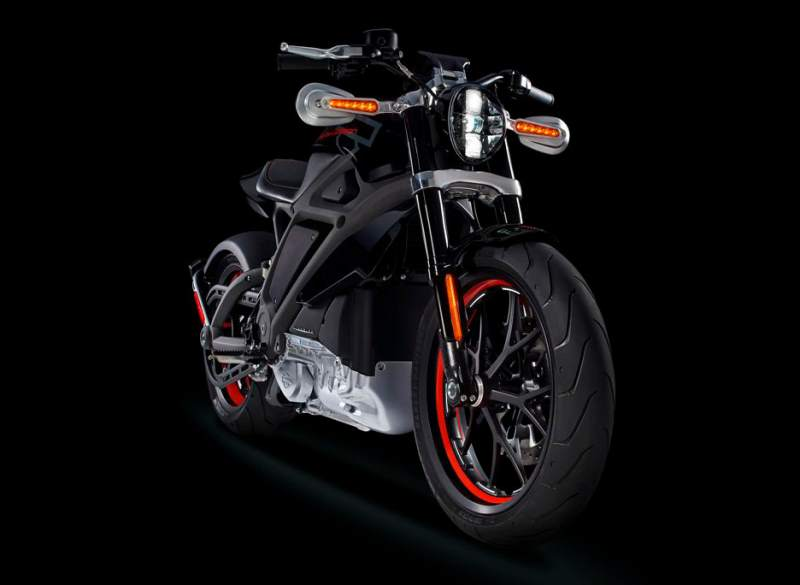 Victory Charger Response of the Harley-Davidson LiveWire Polaris