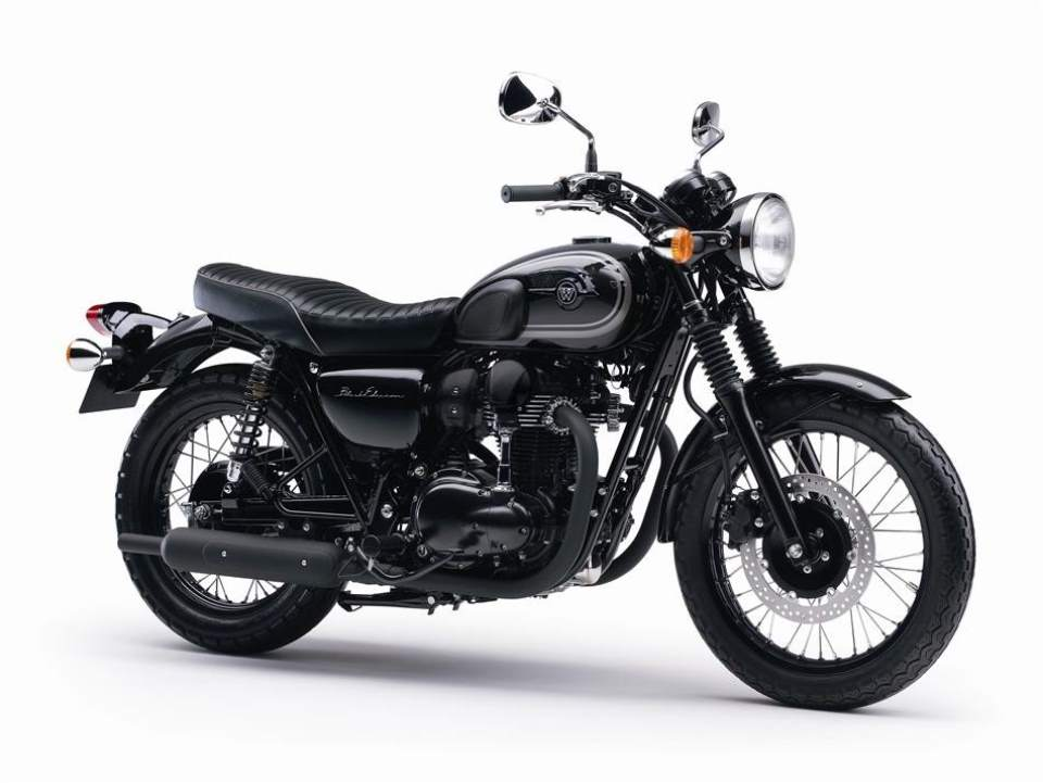Kawasaki W800 Black Edition Motorcycle 2015