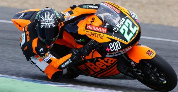 Moto2 2015 Test Jerez 2 Sam Lowes Passes to 2nd Salom