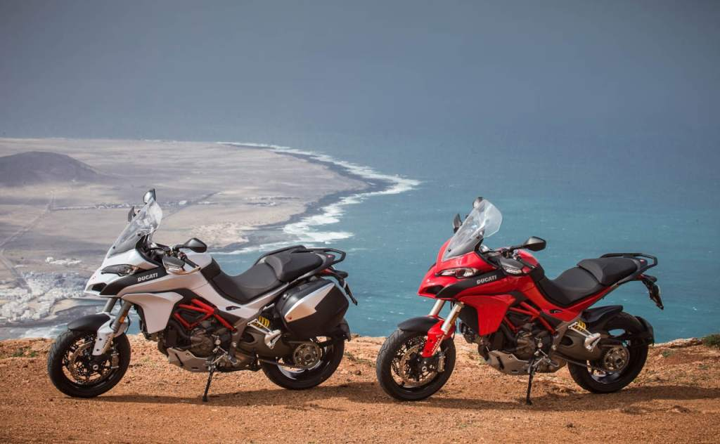 Ducati Multistrada 1200 S 2015 Test as sporty and Comfort Review