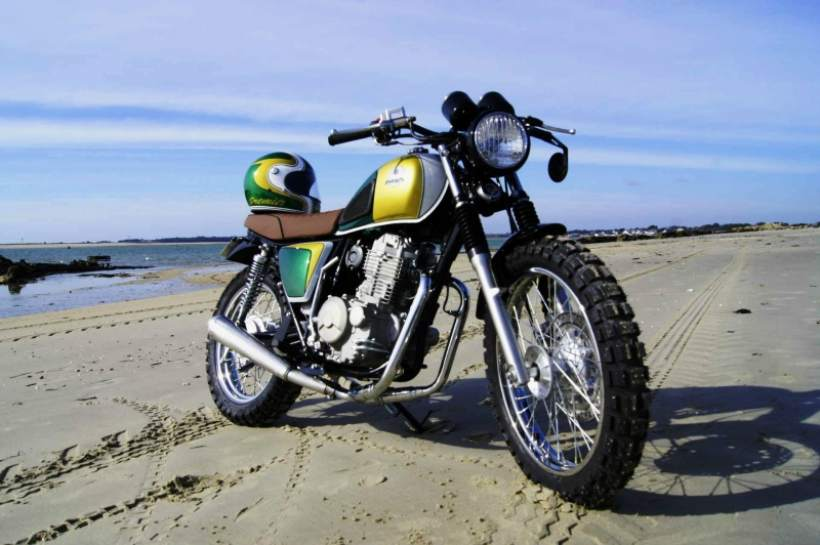 Mash Five Hundred Motorcycle by Passion 35