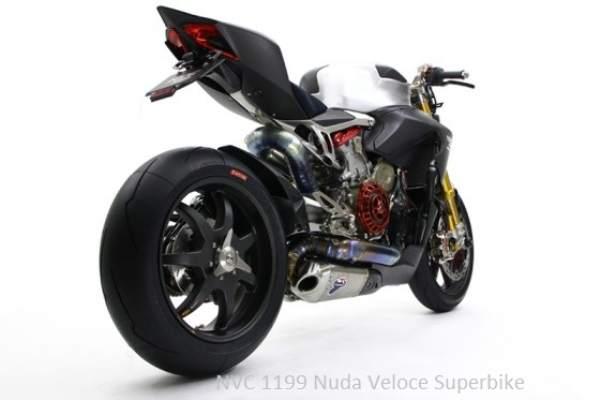 NVC 1199 Nuda Veloce Superbike rear