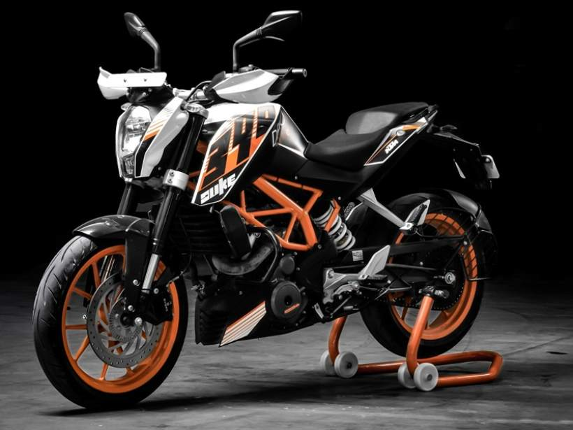 KTM Duke 390 Will be Changed for 2017