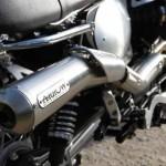 Moto Guzzi V7 II Scrambler Test Garage Concept 2015